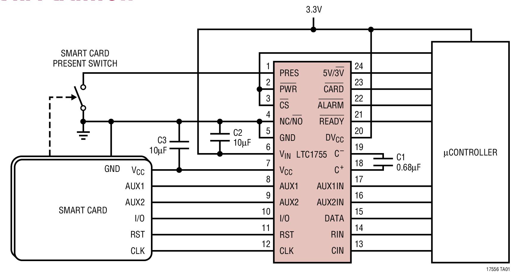 Простой внутрисхемный программатор LPC 55