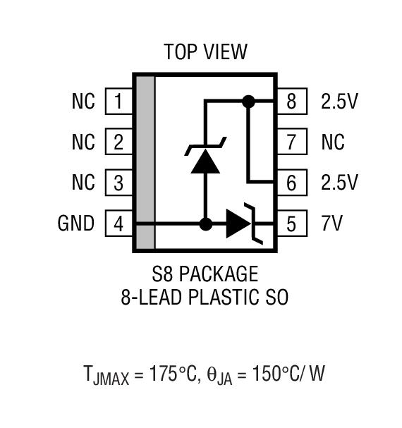LT1034CS8-2.5封装图解一