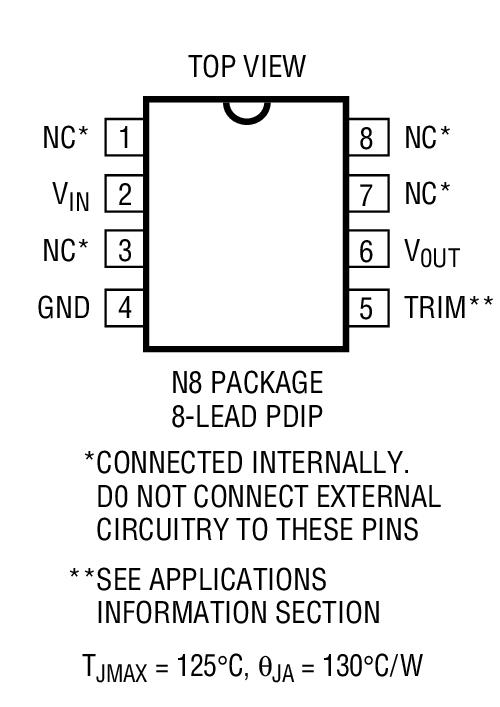 LT1236BCS8-5封装图解一