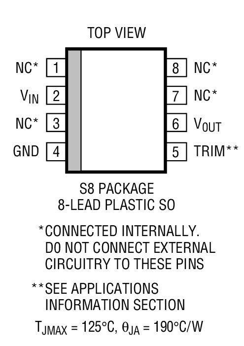 LT1236BCS8-5封装图解二