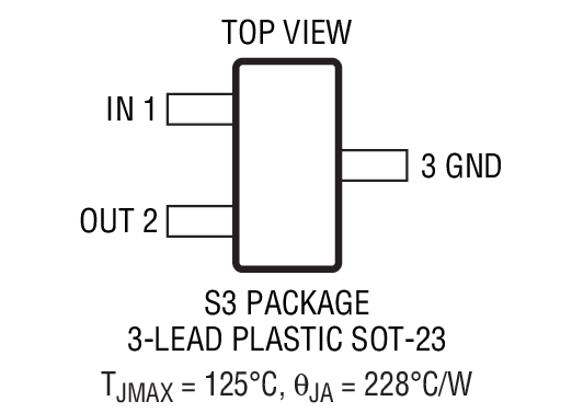 LT1460FCMS8-10封装图解一