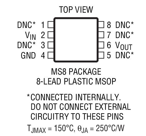LT1460FCMS8-10封装图解四