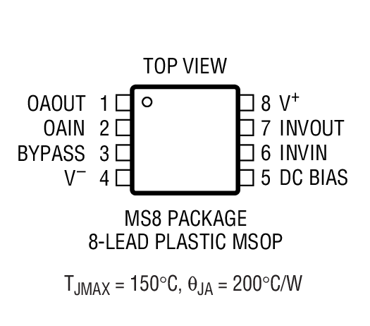 LT1567封装图解一