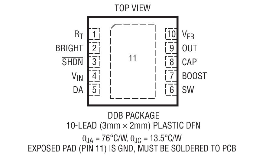 LT3592封装图解一