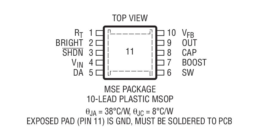 LT3592封装图解二