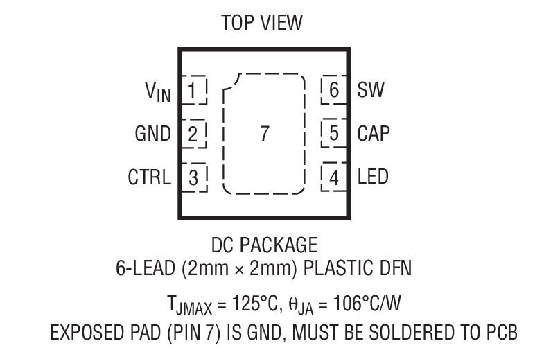 LT3593封装图解一