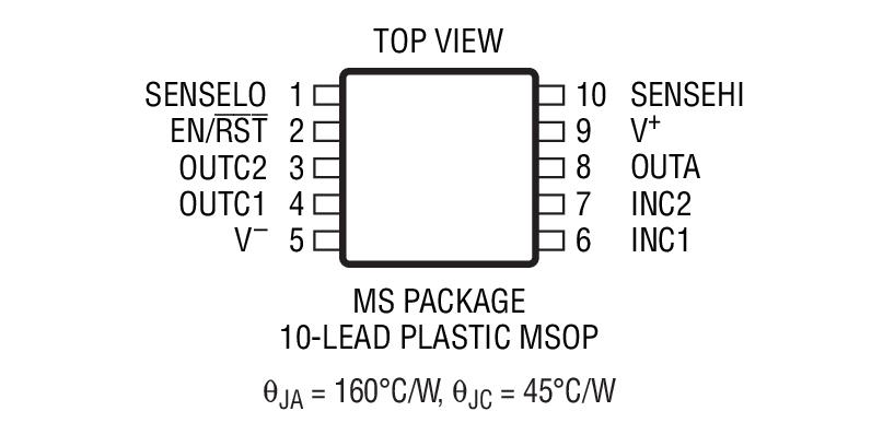 LT6109 是一款完整的高端电流检测器件,具有一个精准的电流检测放大器、一个集成型电压基准和两个比较器。LT6109 可提供两种版本。LT6109-1 以相反的极性连接比较器,而 LT6109-2 则以相同极性连接比较器。此外,电流检测放大器和比较器输入和输出可直接获得。放大器增益和比较器跳变点由外部电阻器进行配置。漏极开路比较器输出实现了至其他系统组件的简易连接。 LT6109 的整体传播延迟仅为 1.