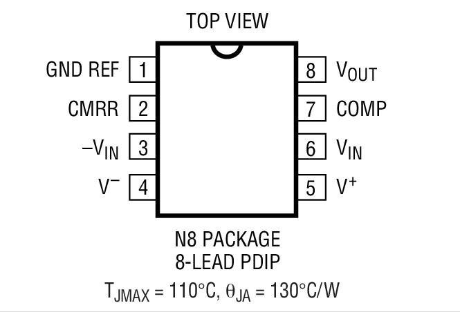 LTC1100封装图解一