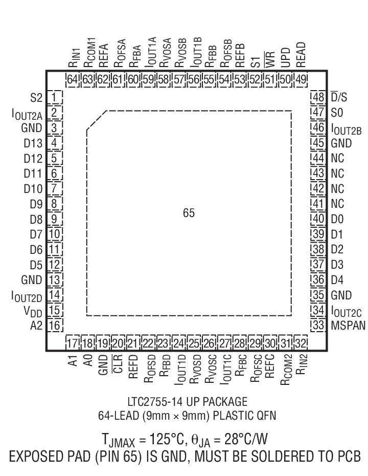LTC2755A-16封装图解二