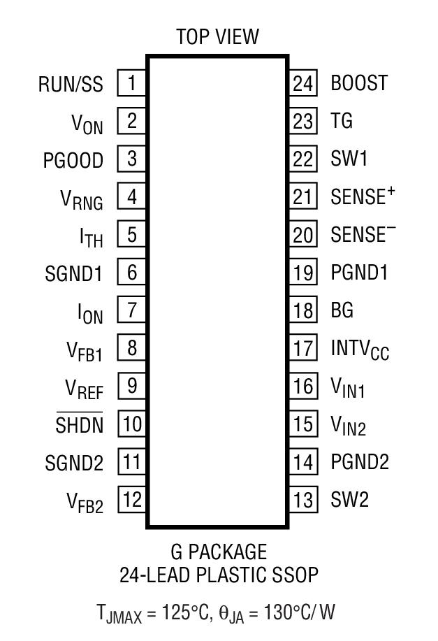 LTC3718封装图解一