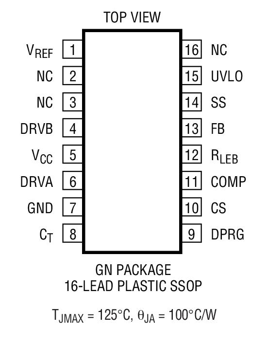 LTC3721-1封装图解一