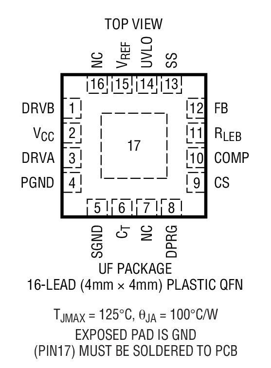LTC3721-1封装图解二