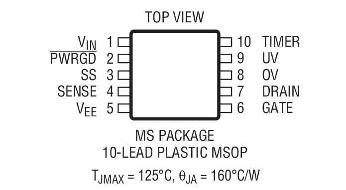 LTC4252B-1封装图解二