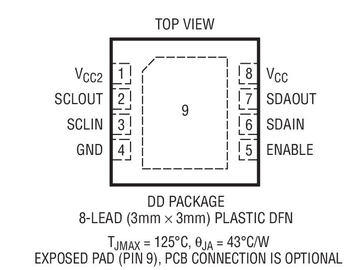 LTC4300A-3封装图解一